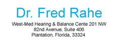Dr. Fred Rahe